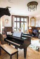 Bildnr.: 11948085<br/><b>Feature: 11948045 - Pittoreskes Juwel</b><br/>Einzigartige Wohnung in einer verwunschenen Jugendstil-Villa von 1895, Schweiz<br />living4media / Wentorf, Eckard
