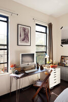Bildno.: 11953801<br/><b>Feature: 11953797 - Cosy Urban Retreat</b><br/>Young collectors&#39; home in Brooklyn<br />living4media / Cawley, Julia