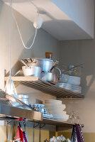 Bildno.: 11956171<br/><b>Feature: 11956152 - Mid-Century Italian Charm</b><br/>An architect&#39;s showroom in Sarzana, Italy<br />living4media / Tamborra, Enza