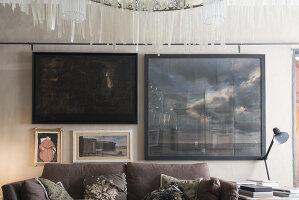 N° de l'image 11956765<br/><b>Reportage: 11956759 - Handmade Fantasies</b><br/>The home of an Italian lamp and fashion designer in Italy<br />living4media / Tamborra, Enza