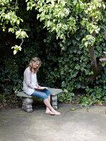 Bildnr.: 11962645<br/><b>Feature: 11962634 - Gl&#252;ckstreffer</b><br/>Offener Kamin, Holzdielen, lichtdurchflutet, mit Garten - in London. Ja, das gibt es.<br />living4media / Hogan, Sarah