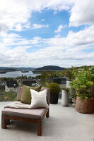 Bildno.: 11963009<br/><b>Feature: 11962992 - House on Oslo Fjord</b><br/>Fashionista&#39;s home in Dr&#248;bak, Norway<br />living4media / Annette &amp; Christian