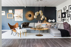 Bildno.: 11974101<br/><b>Feature: 11974096 - Where Old Meets New</b><br/>Retro home in Lund, Sweden<br />living4media / Brandt, Jenny
