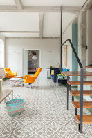 Bildno.: 11977489<br/><b>Feature: 11977480 - Slated for Success</b><br/>Renovation and transformation of a workshop into a home in Kaub, Germany<br />living4media / Scoffoni, Anne-Catherine