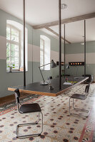 Bildno.: 11977523<br/><b>Feature: 11977480 - Slated for Success</b><br/>Renovation and transformation of a workshop into a home in Kaub, Germany<br />living4media / Scoffoni, Anne-Catherine