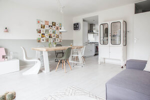 Bildno.: 11981569<br/><b>Feature: 11981545 - Eclectic Pastels</b><br/>Contemporary and vintage combine in this home in Amersfoort, Netherlands<br />living4media / Marder, Holly