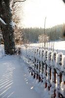 Bildno.: 11990591<br/><b>Feature: 11990571 - Christmas up North</b><br/>Nostalgic house in Kvarnsvedjan, a small village outside Ume&#229;, North Sweden<br />living4media / Isaksson, Camilla