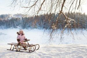 Bildno.: 11990593<br/><b>Feature: 11990571 - Christmas up North</b><br/>Nostalgic house in Kvarnsvedjan, a small village outside Ume&#229;, North Sweden<br />living4media / Isaksson, Camilla