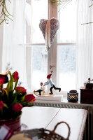 Bildno.: 11990613<br/><b>Feature: 11990571 - Christmas up North</b><br/>Nostalgic house in Kvarnsvedjan, a small village outside Ume&#229;, North Sweden<br />living4media / Isaksson, Camilla