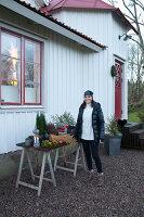 Bildno.: 11990713<br/><b>Feature: 11990664 - Christmas on the Family Farm</b><br/>Celebrating Christmas in Dalum, Sweden<br />living4media / Isaksson, Camilla