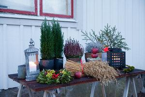 Bildno.: 11990717<br/><b>Feature: 11990664 - Christmas on the Family Farm</b><br/>Celebrating Christmas in Dalum, Sweden<br />living4media / Isaksson, Camilla
