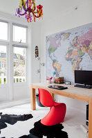 Bildnr.: 11990763<br/><b>Feature: 11990718 - Pure Lebensfreude</b><br/>Bea und ihre Familie lieben es bunt. Viel Wei&#223; ist die perfekte Leinwand. Leuwarden, NL<br />living4media / Isaksson, Camilla