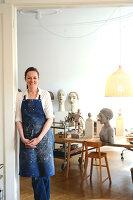Bildno.: 11991367<br/><b>Feature: 11991357 - Head Hunting</b><br/>Visit to the workshop of a Hamburg artist who makes sculptured portraits<br />living4media / Gewecke, Gudrun