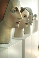 Bildno.: 11991379<br/><b>Feature: 11991357 - Head Hunting</b><br/>Visit to the workshop of a Hamburg artist who makes sculptured portraits<br />living4media / Gewecke, Gudrun