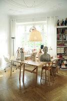 Bildno.: 11991389<br/><b>Feature: 11991357 - Head Hunting</b><br/>Visit to the workshop of a Hamburg artist who makes sculptured portraits<br />living4media / Gewecke, Gudrun