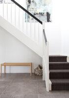 Bildno.: 12082843<br/><b>Feature: 12082842 - Re-inventing Style</b><br/>Newly built house overlooking Aarhus Bay, Denmark<br />living4media / Lene-K