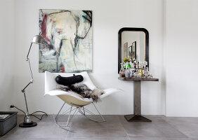 Bildno.: 12082861<br/><b>Feature: 12082842 - Re-inventing Style</b><br/>Newly built house overlooking Aarhus Bay, Denmark<br />living4media / Lene-K