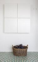 Bildno.: 12082869<br/><b>Feature: 12082842 - Re-inventing Style</b><br/>Newly built house overlooking Aarhus Bay, Denmark<br />living4media / Lene-K