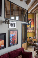 N° de l'image 12084349<br/><b>Reportage: 12084343 - French Cocooning</b><br/>Tiny apartment in Paris proves that style comes in all sizes<br />living4media / Hallot, Olivier