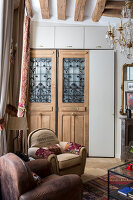 N° de l'image 12084353<br/><b>Reportage: 12084343 - French Cocooning</b><br/>Tiny apartment in Paris proves that style comes in all sizes<br />living4media / Hallot, Olivier