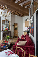 N° de l'image 12084355<br/><b>Reportage: 12084343 - French Cocooning</b><br/>Tiny apartment in Paris proves that style comes in all sizes<br />living4media / Hallot, Olivier