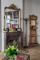 N° de l'image 12084357<br/><b>Reportage: 12084343 - French Cocooning</b><br/>Tiny apartment in Paris proves that style comes in all sizes<br />living4media / Hallot, Olivier