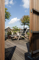 Bildno.: 12100953<br/><b>Feature: 12100951 - High Gardening</b><br/>Rooftop garden in Antwerp, Belgium<br />living4media / Obijn, Guy