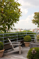 Bildno.: 12100961<br/><b>Feature: 12100951 - High Gardening</b><br/>Rooftop garden in Antwerp, Belgium<br />living4media / Obijn, Guy
