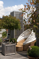 Bildno.: 12100963<br/><b>Feature: 12100951 - High Gardening</b><br/>Rooftop garden in Antwerp, Belgium<br />living4media / Obijn, Guy