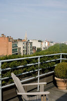 Bildno.: 12100983<br/><b>Feature: 12100951 - High Gardening</b><br/>Rooftop garden in Antwerp, Belgium<br />living4media / Obijn, Guy