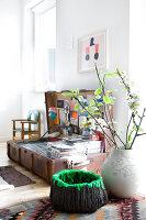 Bildno.: 12273643<br/><b>Feature: 12273611 - A Country Place</b><br/>Ceramics&#39; designer&#39;s home in Denmark<br />living4media / Jacobsen, Bjarni B.