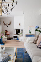 Bildno.: 12291769<br/><b>Feature: 12291704 - Frida&#39;s Magic Touch</b><br/>Family home in Uppsala, Sweden has a touch of luxury<br />living4media / Isaksson, Camilla