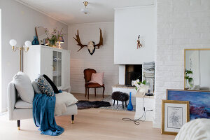 Bildno.: 12291773<br/><b>Feature: 12291704 - Frida&#39;s Magic Touch</b><br/>Family home in Uppsala, Sweden has a touch of luxury<br />living4media / Isaksson, Camilla