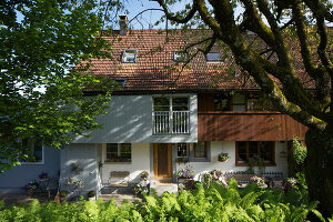 Bildno.: 12293463<br/><b>Feature: 12293430 - Pastoral Idyll</b><br/>Ancient farmhouse gets a makeover in the province of Bern, Switzerland<br />living4media / Giovanelli, Francesca
