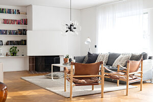 Bildno.: 12309029<br/><b>Feature: 12308982 - Stylish Space</b><br/>Renovated 1960s house near Stockholm, Sweden<br />living4media / M&#246;ller, Cecilia