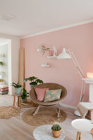 Bildno.: 12321707<br/><b>Feature: 12321691 - Paradise in Pastel</b><br/>Pale colours and soothing furnishings define this home in the Netherlands<br />living4media / Isaksson, Camilla