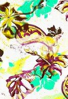 Hibiscus flower design (print)