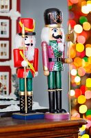 Painted soldier nutcrackers