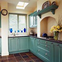 Spacious, neat kitchen
