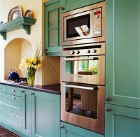 Cabinets, drawers and appliances