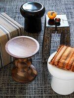 Travel souvenirs - various stools