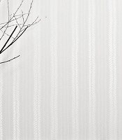 Wallpaper with a shimmering fishbone pattern