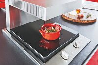 Multi-functional oven for gratinating, caramelising and keeping food warm