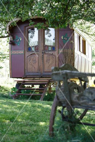 Zirkuswagen für Liebhaber in Beaujolais