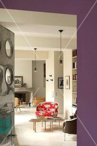 Paris apartment combines art and style for a unique look
