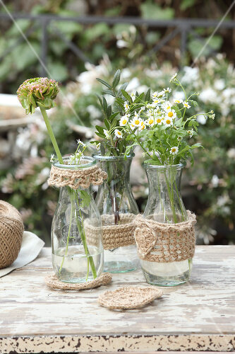 Great things for the garden made of simple materials