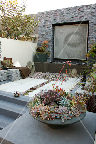 Low maintenance Oriental garden