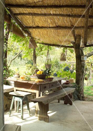 Bauernhof in Ligurien wird als Ferienhaus in den heißen Sommermonate genutzt