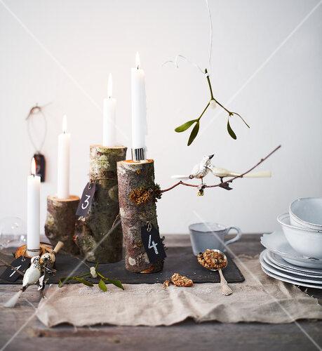 DIY Christmas decorating uses nature's bounty