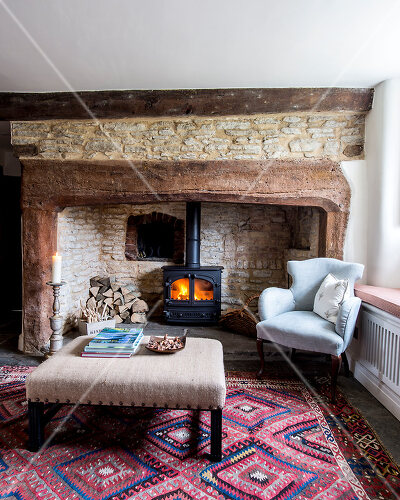 Dorset cottage is cosy and comfortable
